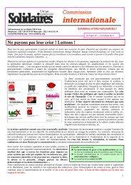 2011 - 10 - 10 - Solidaires international 41.pdf - Rojo y Negro