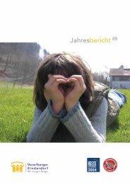 Jahresbericht Vorarlberger Kinderdorf 2005 (740.2 kB)