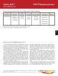 Siletz BSI™ APD Photoreceivers - Voxtel - Page 7