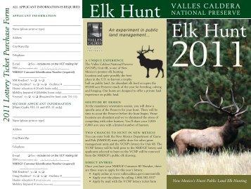 elk Hunt - Valles Caldera National Preserve
