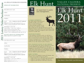 elk Hunt - Valles Caldera National Preserve