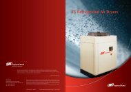 TS Refrigerated Air Dryers - Ingersoll Rand