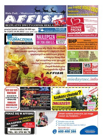 2012-12-12_Nr_47_21_makieta 4 strony.indd - Affish.pl