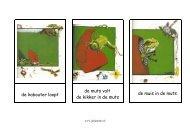 Woordkaarten: de kaboutermuts - Juf Janneke