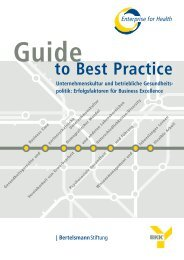 Guide to Best Practice - Enterprise for Health
