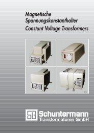 Magnetische Spannungskonstanthalter - Automatic Voltage ...