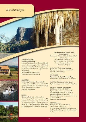 Kirándulások - Veszprém megye honlapja