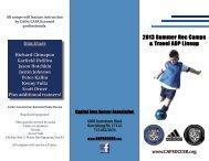 CASA Camps Brochure