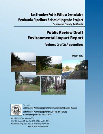 Public Review Draft Environmental Impact Report - San Francisco ...