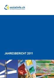 JAHREsbERicHt 2011 - Sozialinfo.ch