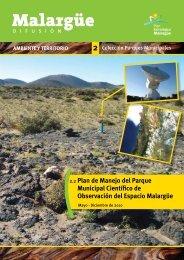 Plan de Manejo del Parque Municipal Científico de Observación del ...