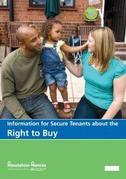 Right to Buy - Hounslow Homes