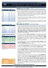 31/01/2012 Informe diario de mercados de Saxo Bank Los futuros ...