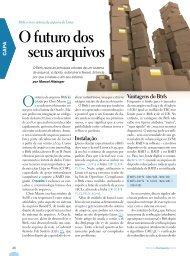 Vantagens do Btrfs - Linux Magazine