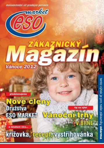 Vánoční trhy Nové členy - ESO market