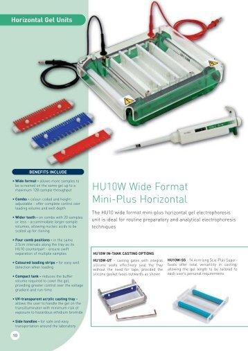 HU10W Wide Format Mini-Plus Horizontal