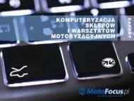 Komputeryzacja warsztatów i sklepów motoryzacyjnych - MotoFocus