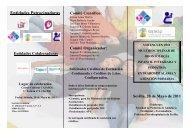 Programa VIII encuentro - Sociedad de Pediatría de Andalucía ...