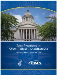 Best Practices in State-Tribal Consultation: Findings from Washington