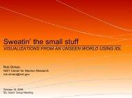 Sweatin' the small stuff - Exelis VIS