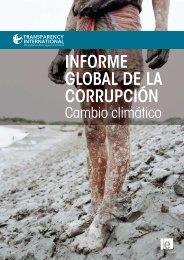 Informe Global de la Corrupción: Cambio climático - El País