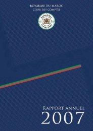 Rapport de la Cour des comptes 2007 - Transparency