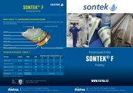 Katalog SONTEK® F - ke stažení - Fatra