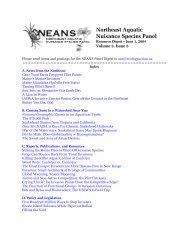 Volume 3, Issue 5, June 1, 2004 - Northeast Aquatic Nuisance ...