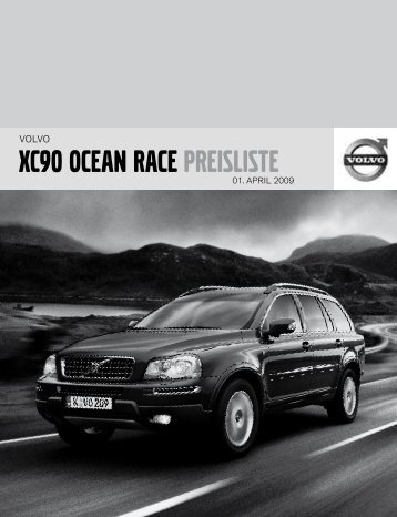 XC90 OCEAN RACE PREISLISTE