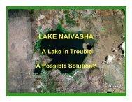 Lake Naivasha - The Vetiver Network International
