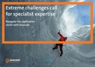 Extreme challenges call for specialist expertise - Avanade
