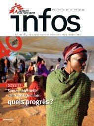 MSF Infos - Avril 2011 - Médecins Sans Frontières