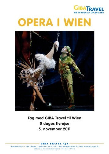 Opera i Wien - GIBA Travel
