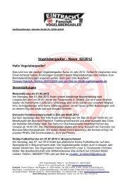 Vogelsbergadler - News 02/2012