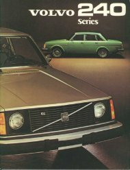 You're Looking At The New Volvos. - Volvo244.pl
