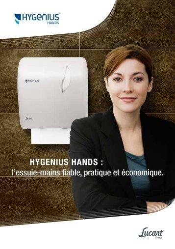 BROCHURE HYGENIUS HANDS PDF 523 Kb - Lucart Professional