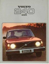 Volvo 240 Brochure 1978 - Volvo244.pl