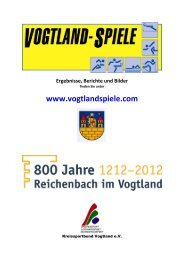 Vogtlandspiele - gesamte  Ausschreibung ... - Vogtlandspiele.com