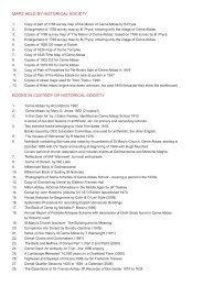 Bibliography - Cerne Abbas Historical Society