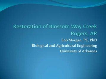 Dr. Robert Morgan, Environmental Manager, Beaver Water District