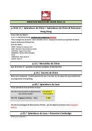 erratum brochure hiver 2012 / printemps 2013 - Visiteurs
