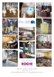 The Drift Press Release - Archilovers