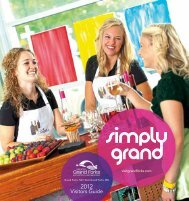 Visitors Guide - Greater Grand Forks Convention and Visitors Bureau