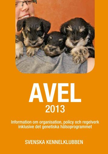 Avel 2013 - Svenska Kennelklubben