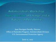 Antimicrobials Division Update - ISSA.com