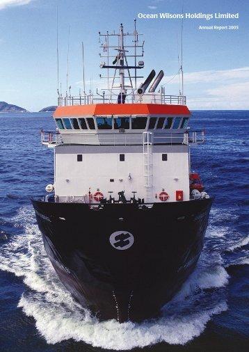2005 Annual Report - Ocean Wilsons Holdings Ltd