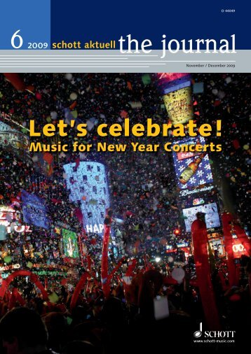 Let's celebrate! - Schott Music