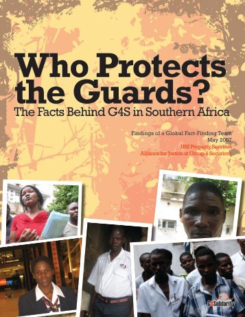 Who Protects the Guards? The Facts Behind G4S ... - Global Exchange