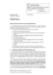 n. 9/EL - Propaganda elettorale - Sistema delle autonomie locali