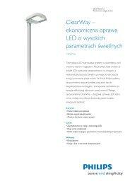 Product Familiy Leaflet: ClearWay - Solar.eu